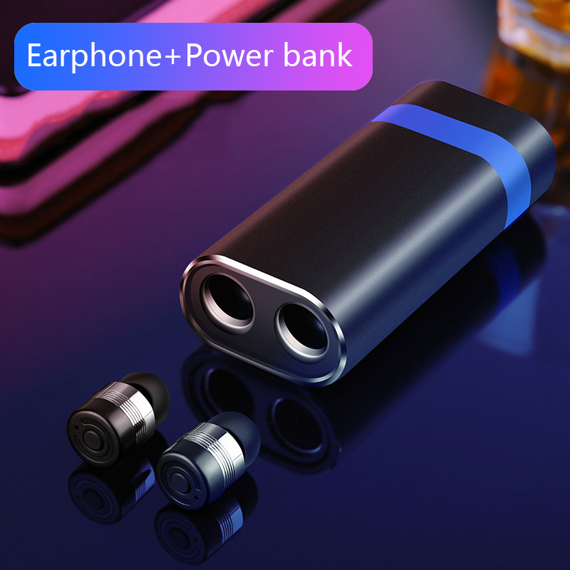 New Bluetooth V5.0 Headset Hifi Stereo Sound Quality Earbuds Automatic Connection Earphone TWS Mini Wireless Bluetooth Headphone