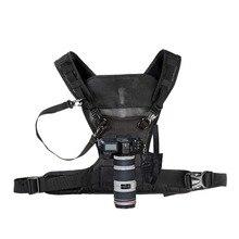 Nicama камера для переноски нагрудный жилет с безопасными лямками для 1 камеры Canon Nikon sony камера DSLR Panasonic