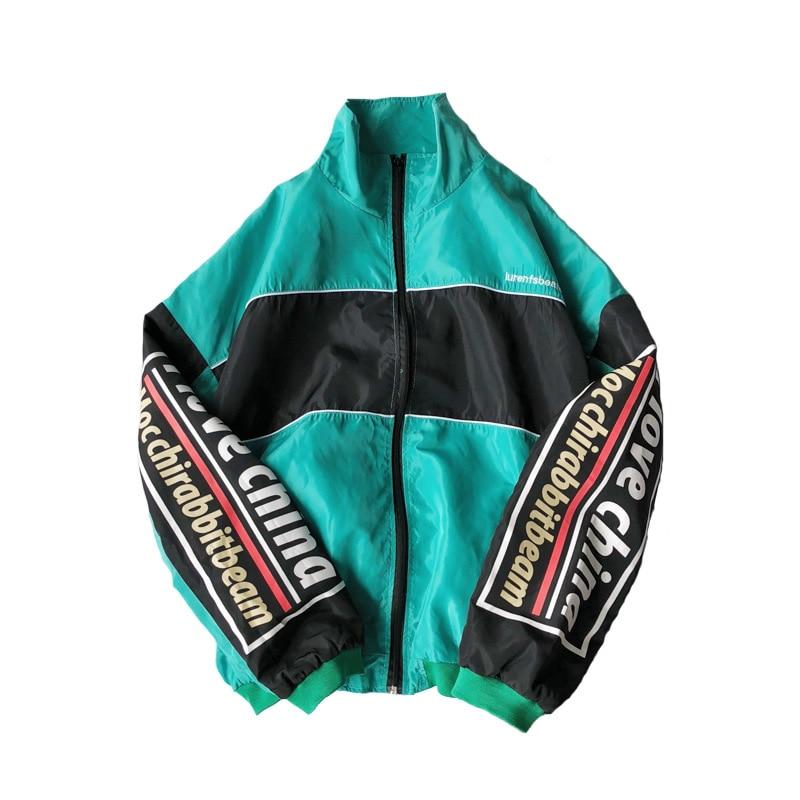Brand 2019 Spring Autumn Jacket Men Thin Jacket Mens Coat Streetwear Lover Clothes Windbreaker Man Hip Hop Hooded Bomber Jacket