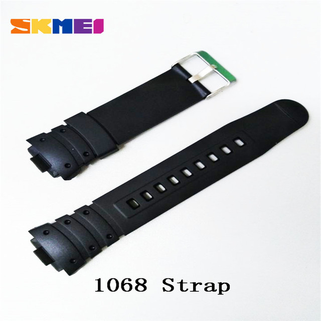 Skmei 1025 1068 0931 1016 1019 1251 Strap Watch Strap Plastic Rubber Straps For Different Model Bands Strap Watchbands 2019 New