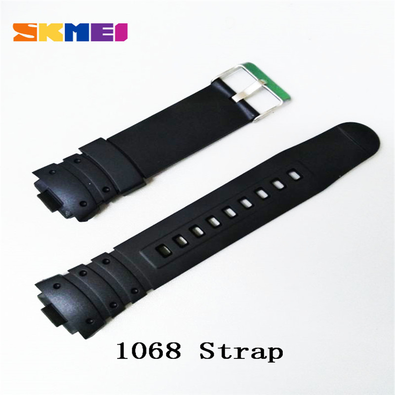 Skmei 1025 1068 0931 1016 1019 1251 Strap Watch Strap Plastic Rubber Straps For Different Model Bands Strap Watchbands 2018 New