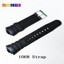 Skmei 1025 1068 0931 1016 1019 1251 ремень ремешок для часов Пластик резиновые ремешки для другую модель ленты ремешки для часов 2019 Новый