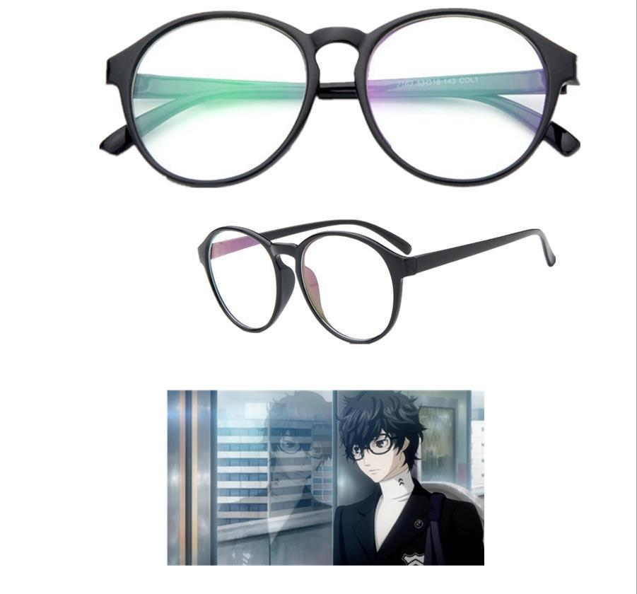 Game Persona 5 Futaba Sakura Hero Kurusu Akira Cosplay Accessory Glasses Prop image