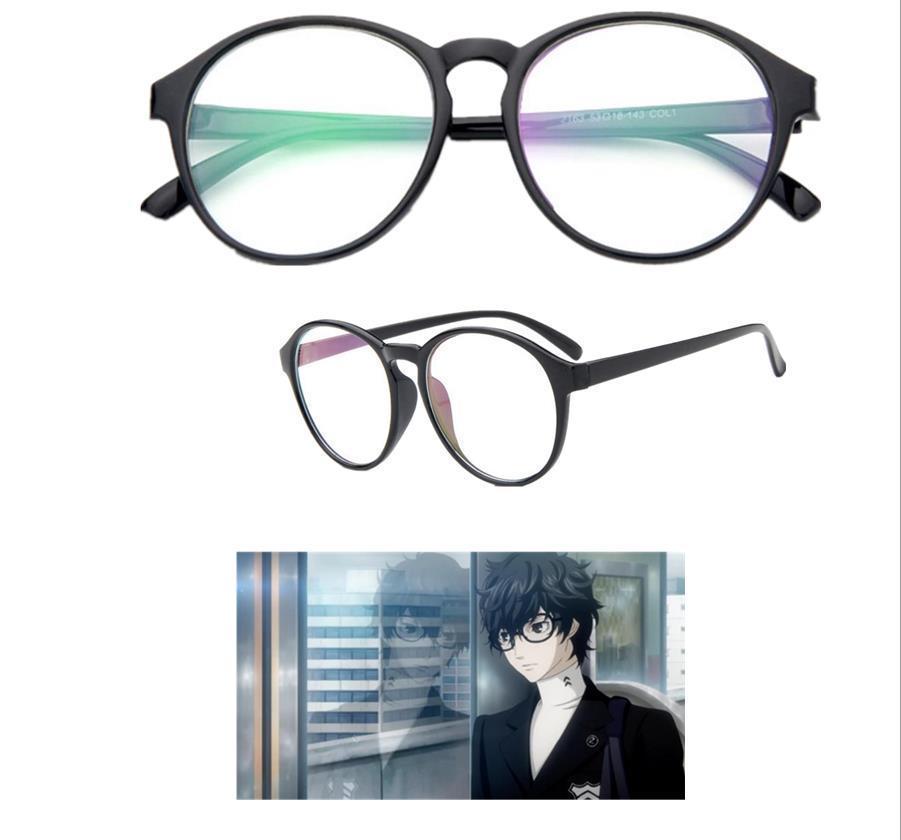 Biamoxer Game Persona 5 Futaba Sakura Hero Kurusu Akira Cosplay Accessory Glasses Prop