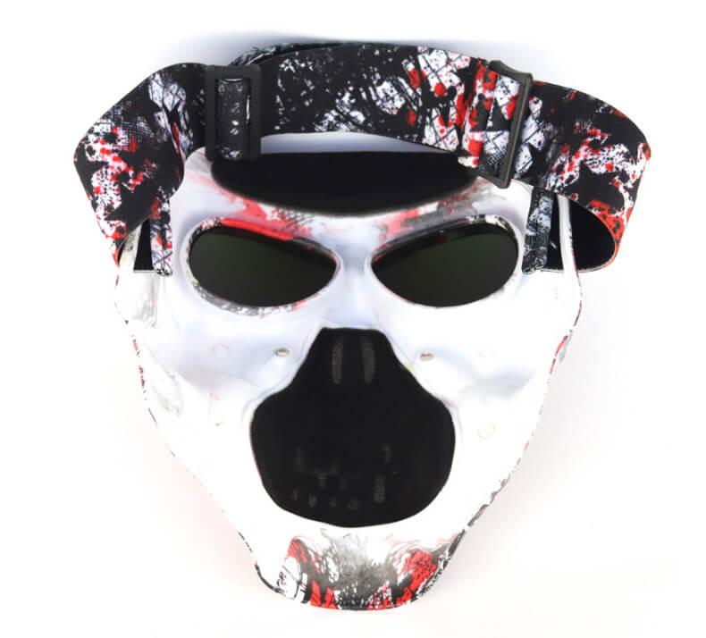 Diabo Máscara de Óculos de Proteção tático