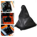 New Black PU Leather Gear Boot Gaiter Cover for Hyundai Sonata 1998 1999 2000 2001 2002 2003 2004 2005 2006