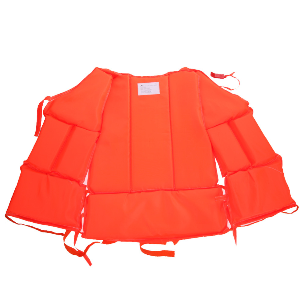 kids to adult plus size red life vest with survival whistle water