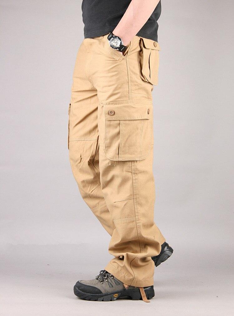 Blue Pantalones khaki army Multi Bolsillos Casual green Largo Los Black gray Gran Militares navy Táctico Ejército Outwear De Yellow armygreen 44 Tamaño Hombres Hombre EwaWgnWqH