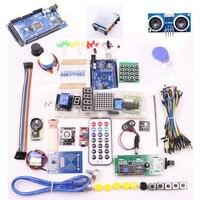 Kit For Arduino Uno R3 Mega 2560 Servo 1602 LCD Jumper Wire HC 04 SR501 Free