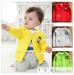 Small-childrens-clothing-0-2-years-old-baby-autumn-baby-shirt-male-female-child-long-sleeve-shirt-100-cotton-clothes-1