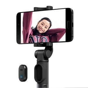 Image 3 - Oryginalny statyw Xiaomi Mini z przyciskiem migawki Bluetooth wysuwany Monopod samowyzwalacza do telefonu komórkowego lub aparatu fotograficznego