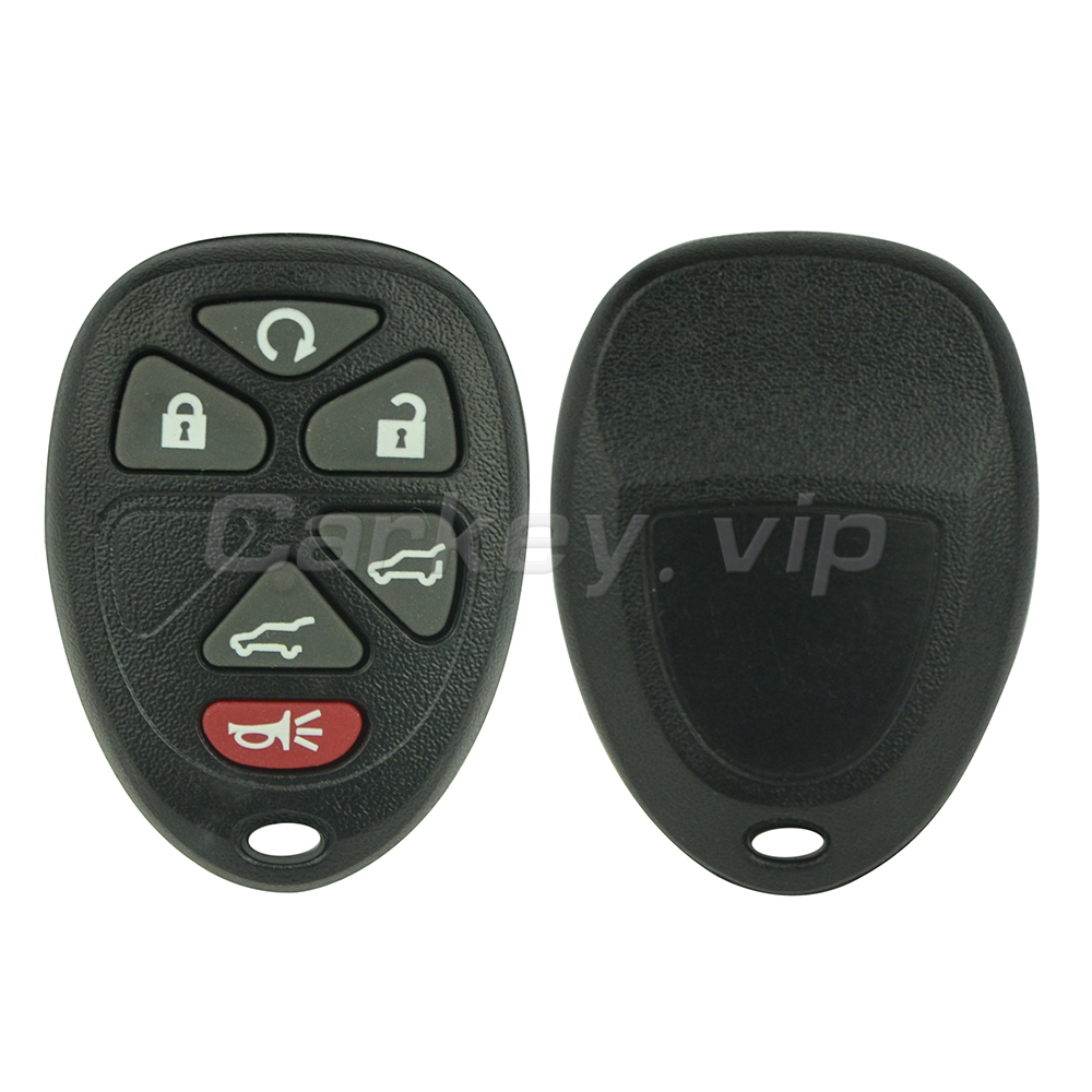 Remotekey OUC60270 OUC60221 Remote car key fob case 6 button for Cadillac Escalade for Chevrolet Tahoe Suburban GMC Yukon 2007 ...
