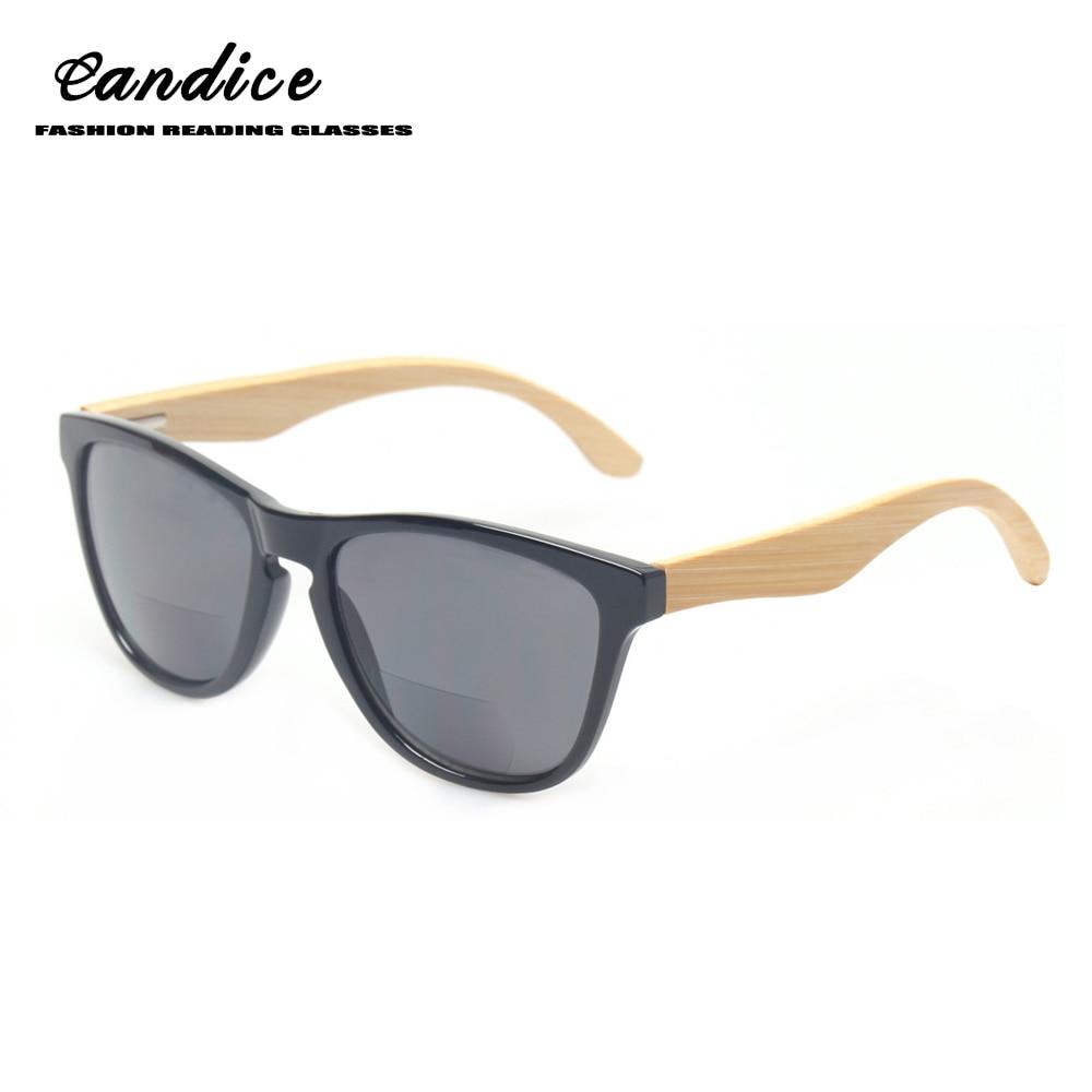 Damenbrillen Systematisch Mode Grau Objektiv Bifokale Lesebrille Oval Holz Rahmen Unisex Sonnenbrille Lesen Outdoor Angeln Dioptrien 1,0 1,50 3,0 4,0 Herausragende Eigenschaften