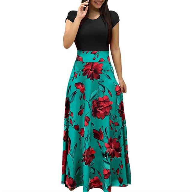 Women Summer Long Dress...