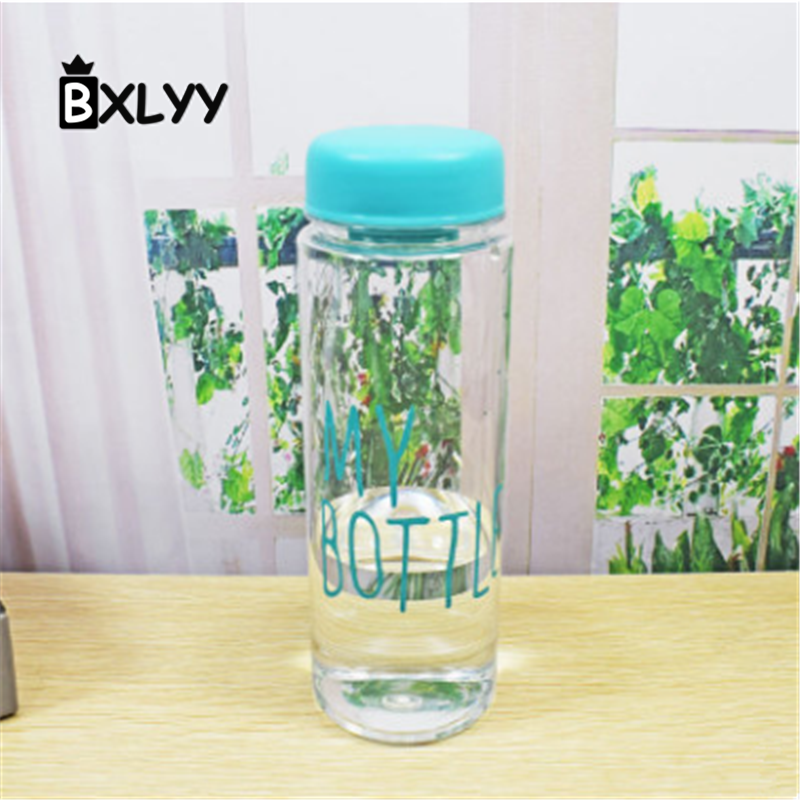 BXLYY Christmas Party Decoration Plastic Pink Girl Easy To Carry New Decorating Plastic Water Bottles