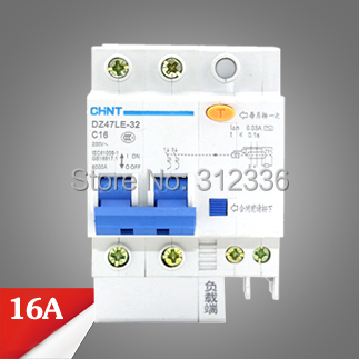 Free Shipping Two years Warranty DZ47LE-32 C10 2P 10A 2 pole ELCB RCD earth leakage circuit breaker residual current idpna vigi dpnl rcbo 6a 32a 25a 20a 16a 10a 18mm 230v 30ma residual current circuit breaker leakage protection mcb a9d91620