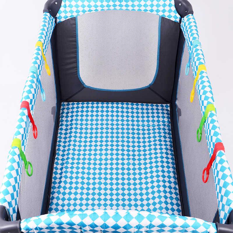 Babyfond 4 teile/los ring für laufstall Baby krippe haken allgemeine verwendung haken baby spielzeug bett ringe haken Universal Ring Helfen baby Stehen