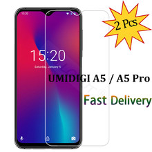 2 Pieces Glass for UMIDIGI A5 Pro Tempered UMI Transparent Clear Protective Screen Protector
