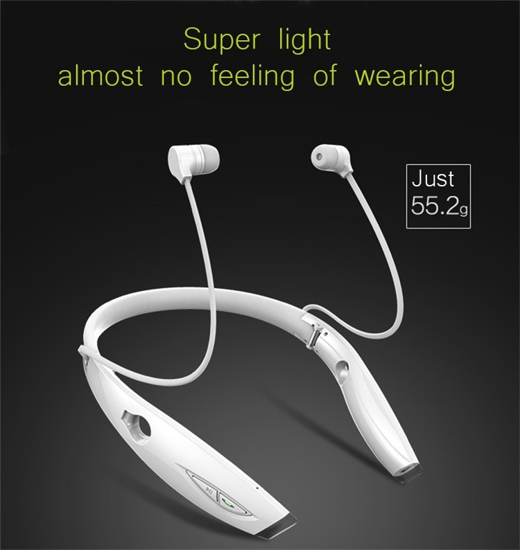 Neckband Bluetooth Sport Stereo Headset Zealots H1 HiFi Headphones With Mic For iPhoneSamsung Handfree Call (10)