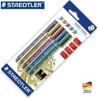 Staedtler 8323-SBK5 Metálica Marcador Permanente de Aceite Rotulador Resistente Al Agua de Dibujo para Tarjetas de Felicitación de Papel Bonito Color de Graffiti