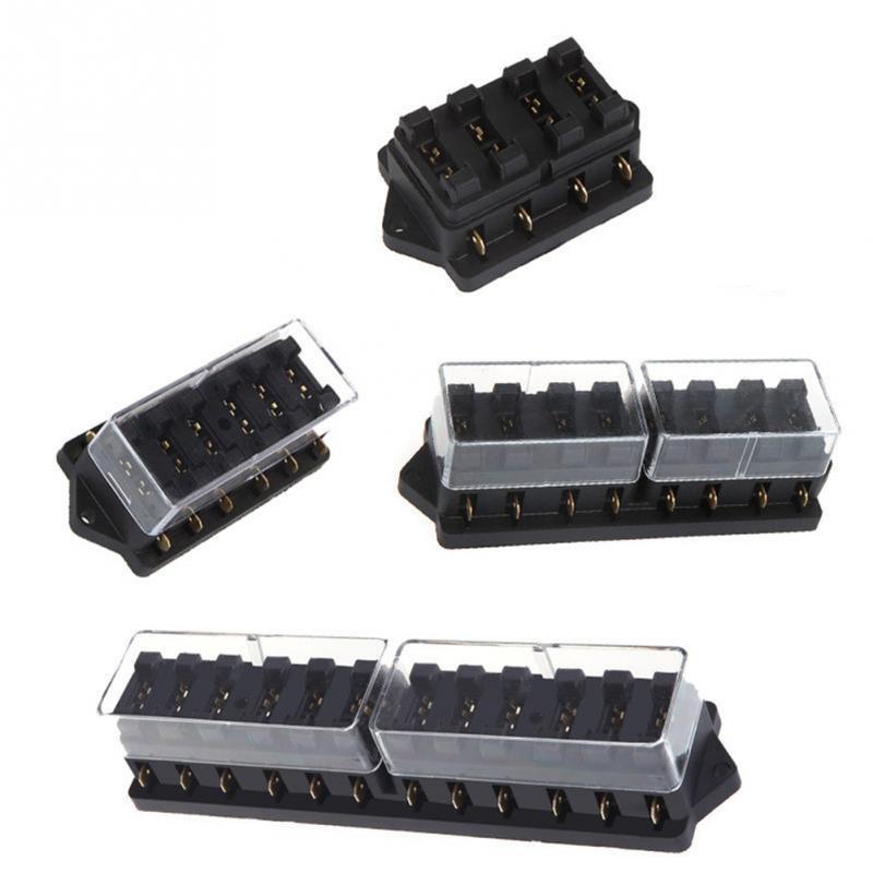 new 4/6/8/10/12 way car circuit fuse box varied way flat ... 12 way car fuse box 6 way blade fuse box 1 positive bus in