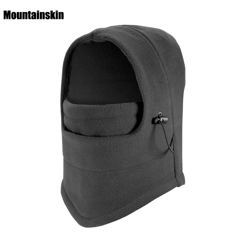 Men Women's Winter Fleece Hats Outdoor Sports Windproof Warm Cap Hiking Cycling Skiing Fishing Female Male Balaclava Hats VK010 outdoor sports winter thermal fleece warm ski hat earmuffs cycling cap windproof hiking riding snow cap men women knitted hat