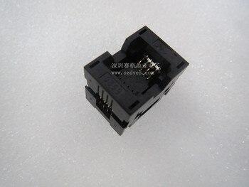 Opentop 100% новый и оригинальный SOP8 IC адаптер для горения испытательное сиденье тестовое гнездо тестовый стенд в наличии БЕСПЛАТНАЯ ДОСТАВКА