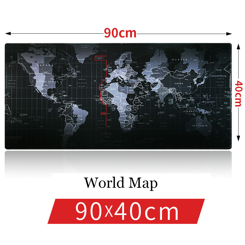 SAGO New 90*40cm Pro Gaming mouse pad Old world map, dragon, lion super mouse pads for Dota 2 LOL CSGO for Game Player Mousepad