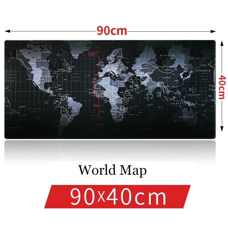 SAGOU Nouveau 90*40 cm Pro Gaming mouse pad carte de Vieux monde, dragon, lion super tapis de souris pour Dota 2 LOL CSGO pour le Joueur De Jeu Tapis De Souris
