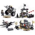 Новогодний подарок 88201WW2 танк отряды борьбы военные блоки мальчиков девушки весело Рождественские игрушки совместимость