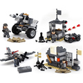 New Year's gift 88201WW2 tank squads fight military building blocks are boys girls fun Christmas toy compatible