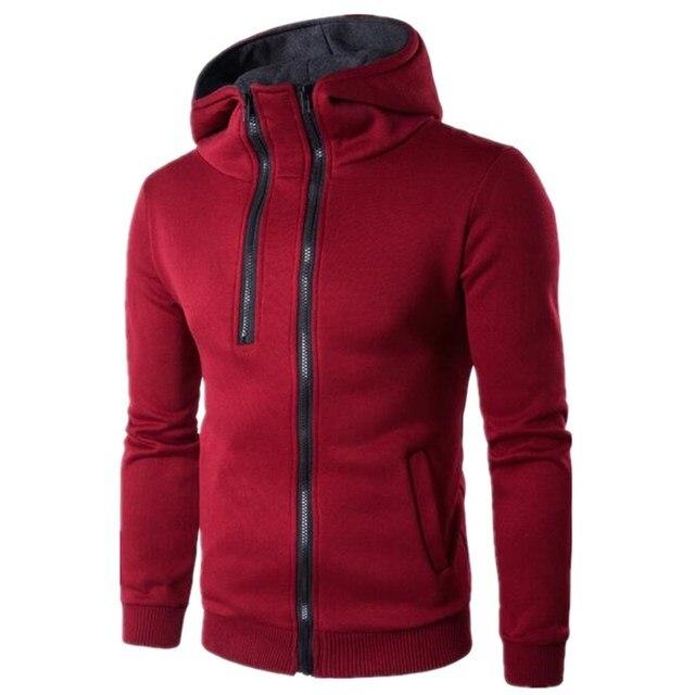 6f9b3c242977 2017 a new semi-zipper design leisure hoodie Warm Jackets Hoodies Hodded  Men's Casual 4 Color Hot Sale Sweatshirthoodie1501.w815