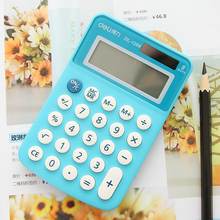 Colorful bright hot sale mini office & school students 8 digits learning Calculator Soft keyboard Creative Magnetic adsorption