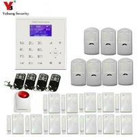 Yobang Security 2 4G WiFi GSM Alarm System APP Control Strobe Siren Motion Detection Door Sensor