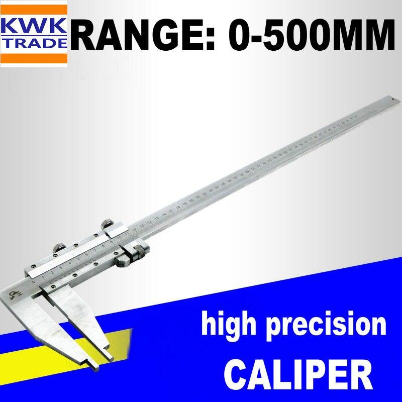 Caliper 500mm Big Range Metric 0-500mm Gauge Vernier Calipers Stainless Steel Micrometer Measuring Tools High Precision