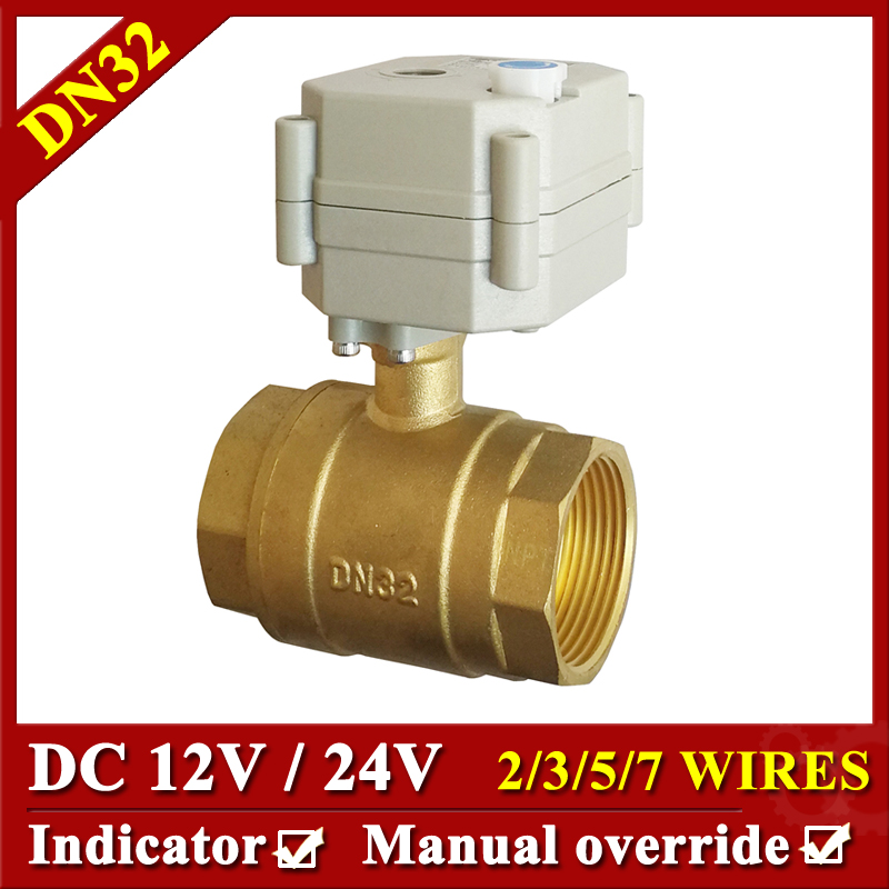 11 4 DC24V 7 wires Motorized water valve DN32 Electric motor ball valve 2 way full?w=3000&quality=2880 11 4 dc24v 7 wires motorized water valve, dn32 electric motor ball