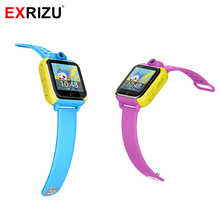 EXRIZU Q730 Smart Watch Kids Wristwatch GPRS GPS Locator Tracker Child font b Smartwatch b font