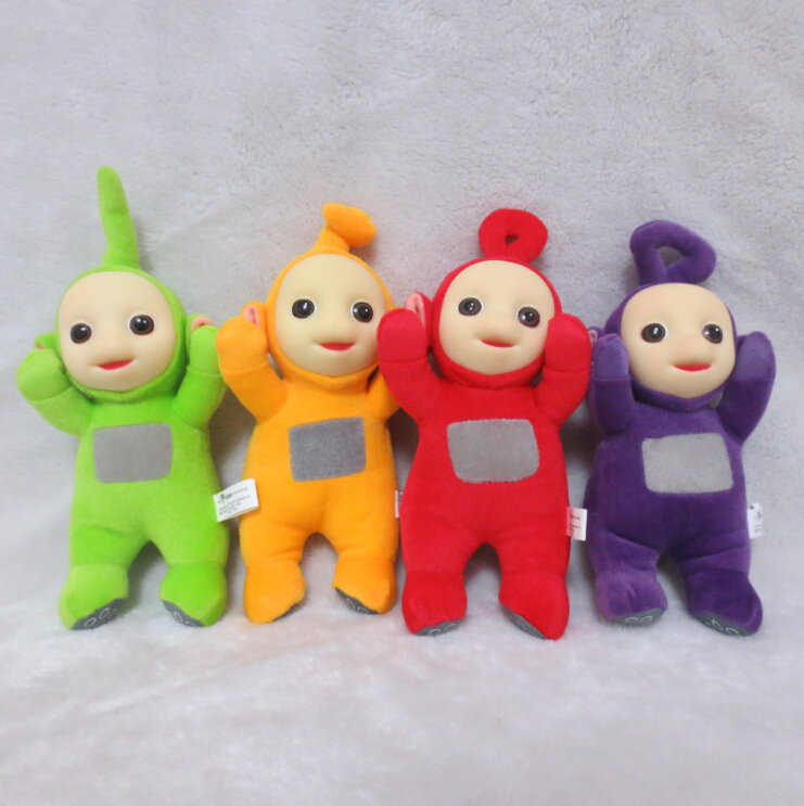 4pcs/set 20cm super cute plush Teletubbies toy stuffed doll with high quality,Christmas & birthday gift for children