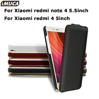 Imuca Case Cover Xiaomi Redmi 4 Pro Prime Case Flip Leather Cover Xiaomi Redmi Note 4