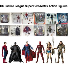 DC Justice League Super Hero Mafex MAF Aquaman Batman Flash Wonder Woman Superma