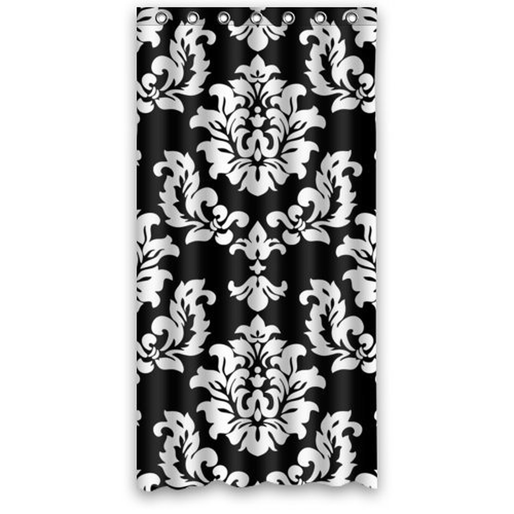 Popular Black Damask Curtains-Buy Cheap Black Damask