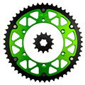 Motorcycle Parts 52-13 T Front & Rear Sprockets Kit for KAWASAKI KLX250 KLX 250 1982 1993-1995 Gear Fit 520 Chain