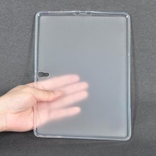 T800 Case For Samsung Galaxy Tab S 10.5″ 2014 SM-T800 T805 T807 Cover 360 Full Protective Soft TPU Cover Clear Back Slim Cases