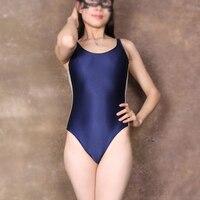 Sexy Hollow High Cut Swimwear One Piece Thong Bodysuit Stripe Spliced Swimwear Night Club Erotic Lingerie