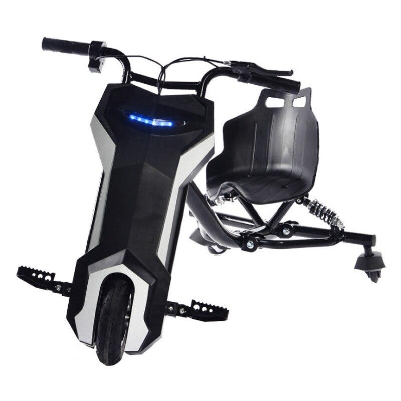 Karting deriva de scooter elétrico Novo deriva scooter 8 polegada hoverboard elétrica Ao Ar Livre fresco três-roda scooter elétrico