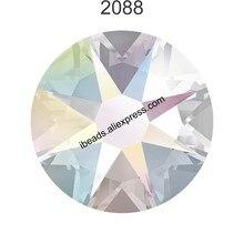 100% Original Crystals from Swarovski 2058 XILION 2088 XIRIUS Rose no  hotfix flat back rhinestone for nail art jewelry making 8f02ac105052