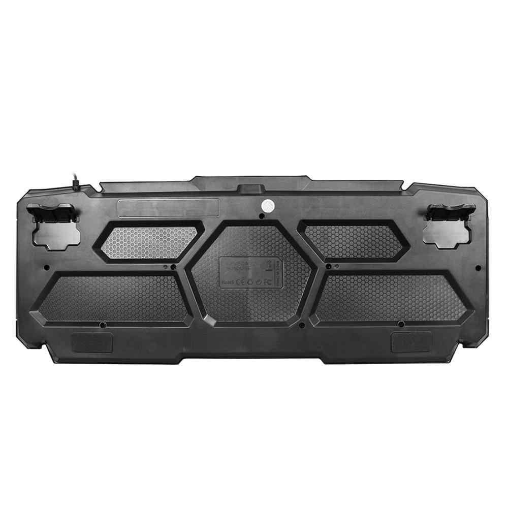 Usb Проводная игровая клавиатура с подсветкой механическая клавиатура для компьютера ПК Ноутбук игровой плеер оборудование аксессуары