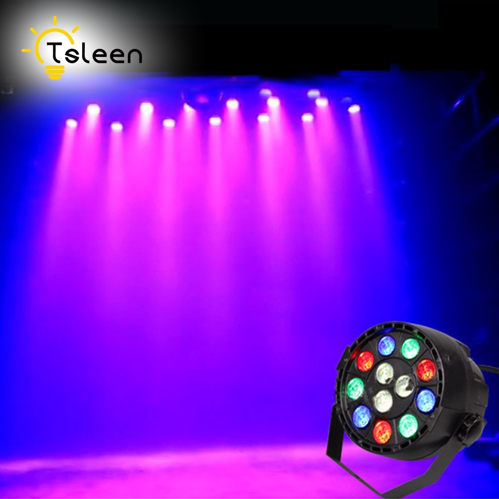 Cheap 12W DJ Laser LED Par Light RGBW Disco Lamp Stage Light Luces Discoteca Laser Beam Luz De Projector Lumiere Dmx Controller flat led par stage light rgbw 12x3w disco party lights laser dmx luz dj effect controller dj equipment projector luces discoteca