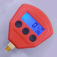 R134a R22 R404A R410A R407C 1 piece/pair Digital LCD Display Low/High Pressure Gauge For Car Air Conditioner A/C Refrigeration