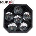 RIUKOE 2 шт./лот moonflower dj light ночной клуб танец DMX мини 6 зеркальные блюда отражающие лазерный луч для вечерние дискотеки